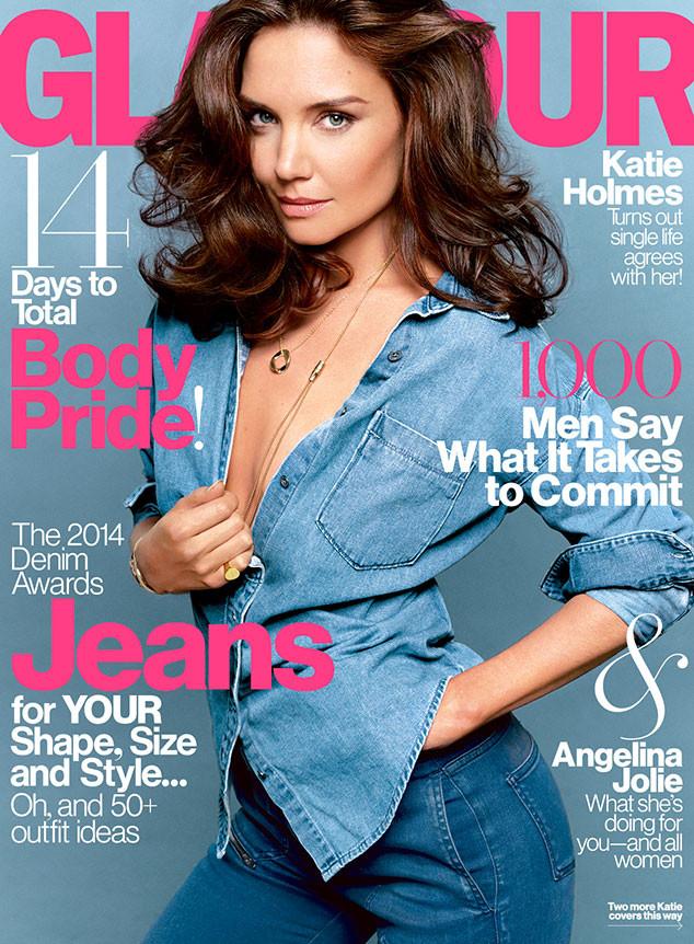Katie Holmes, Glamour Magazine