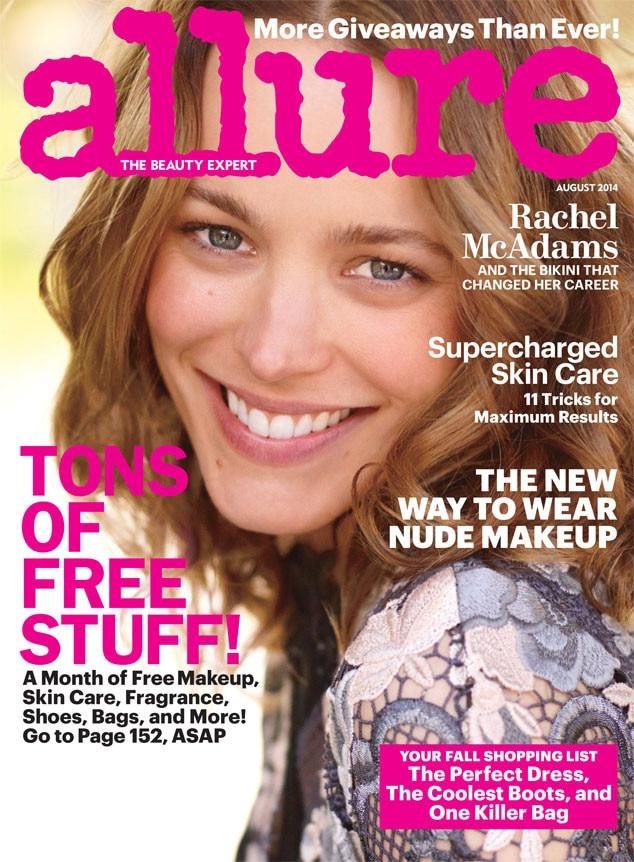 Allure Magazine, Rachel McAdams