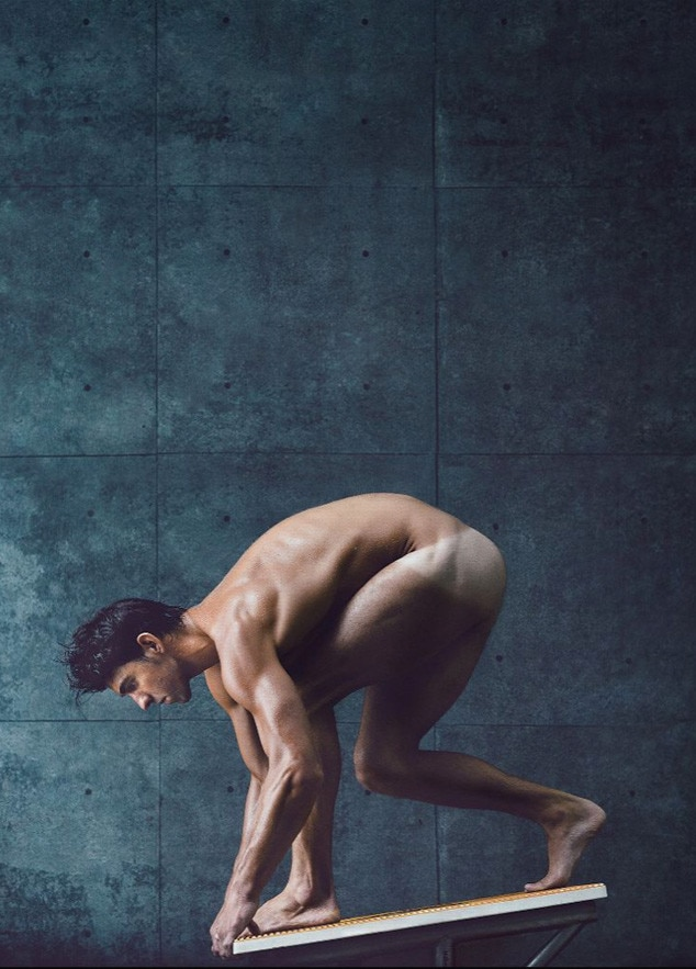 Michael Phelps, ESPN The Magazine, Body Issue