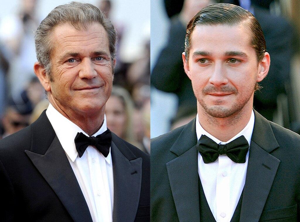 Mel Gibson, Shia LaBeouf