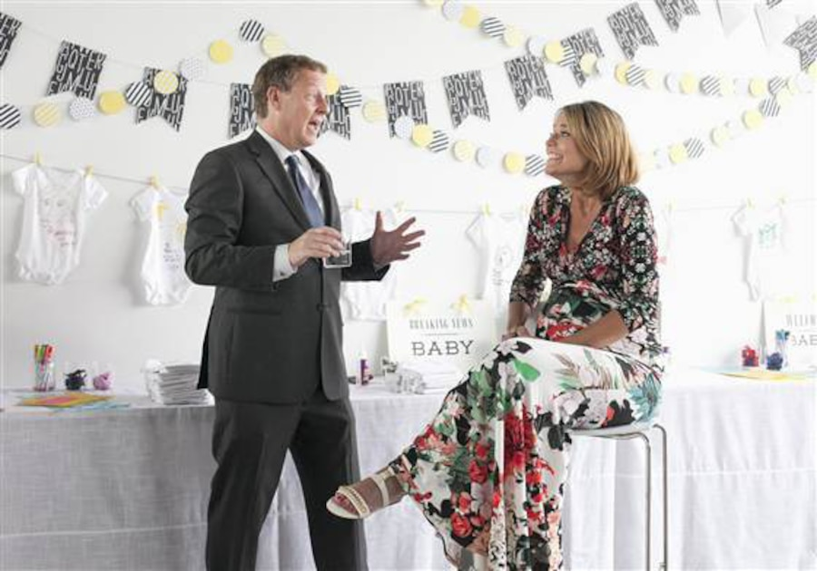 Savannah Guthrie, Baby Shower, Today Show