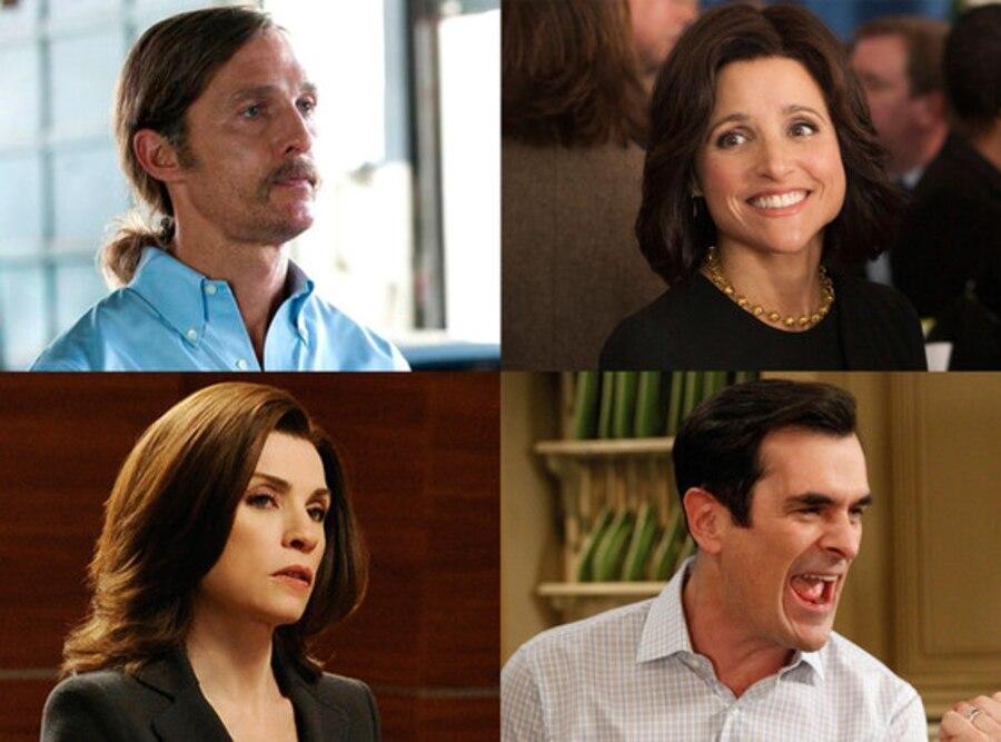 Emmy Predictions, Matthew McConaughey, Julianna Margulies, Ty Burrell, Julia Louis-Dreyfus