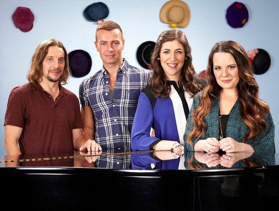 Blossom Reunion, Mayim Bialik, Joey Lawrence, Jenna von Oy, Michael Stoyanov