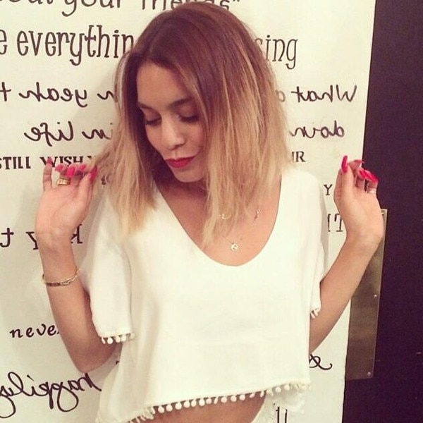 Vanessa Hudgens, Hair, Instagram