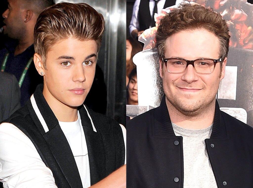 Seth Rogen, Justin Bieber