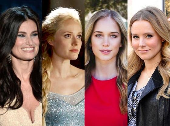 Idina Menzel, Georgina Haig, Elizabeth Lail, Kristen Bell