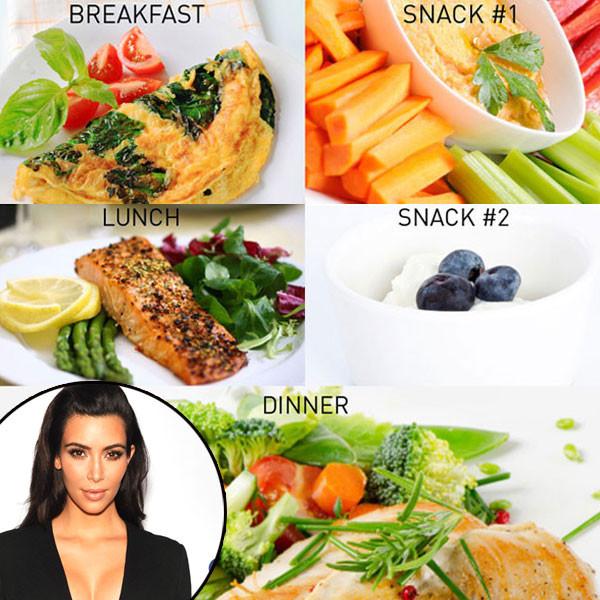 Kim Kardashian, Diet