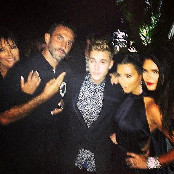 Justin Bieber, Kardashians Instagram