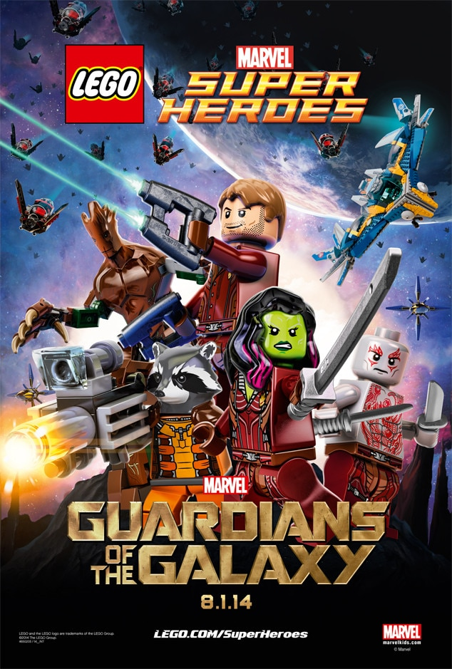 Lego, Guardians of the Galaxy