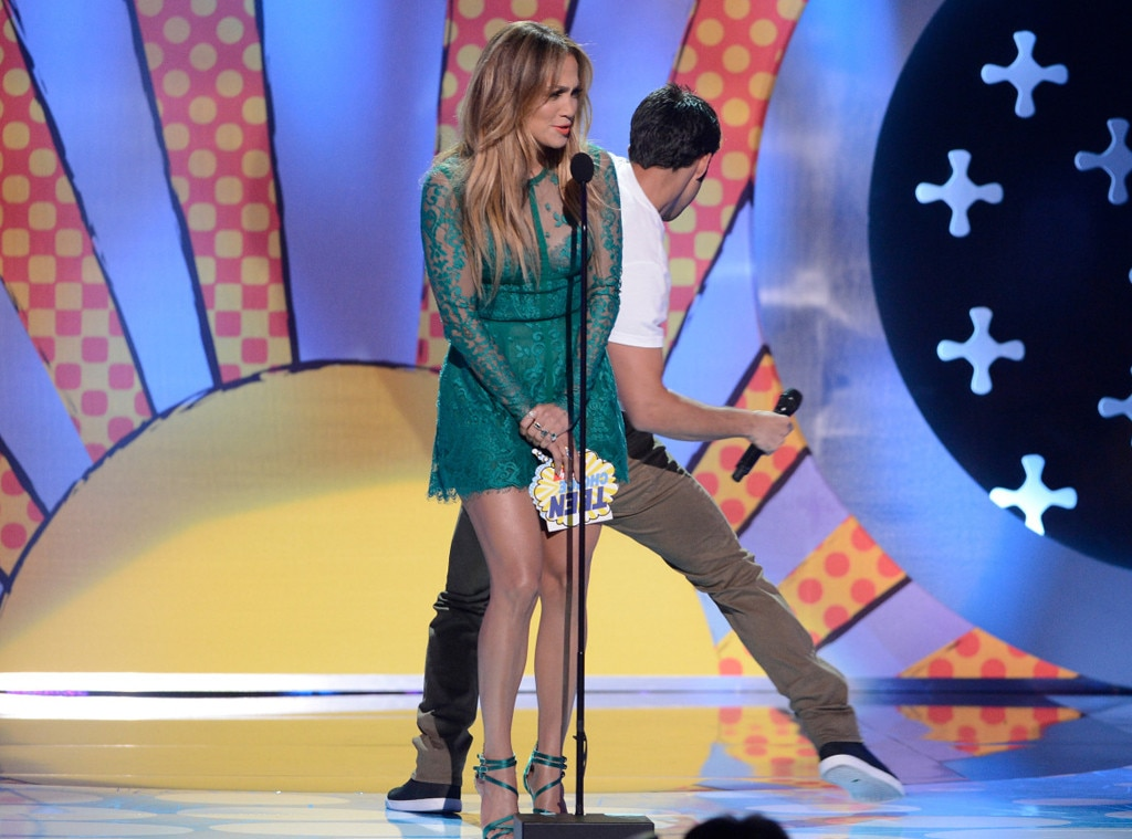 Jennifer Lopez, Tyler Posey, Teen Choice Awards
