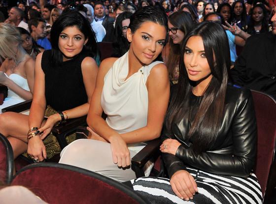 Kylie Jenner, Kendall Jenner, Kim Kardashian, Teen Choice Awards