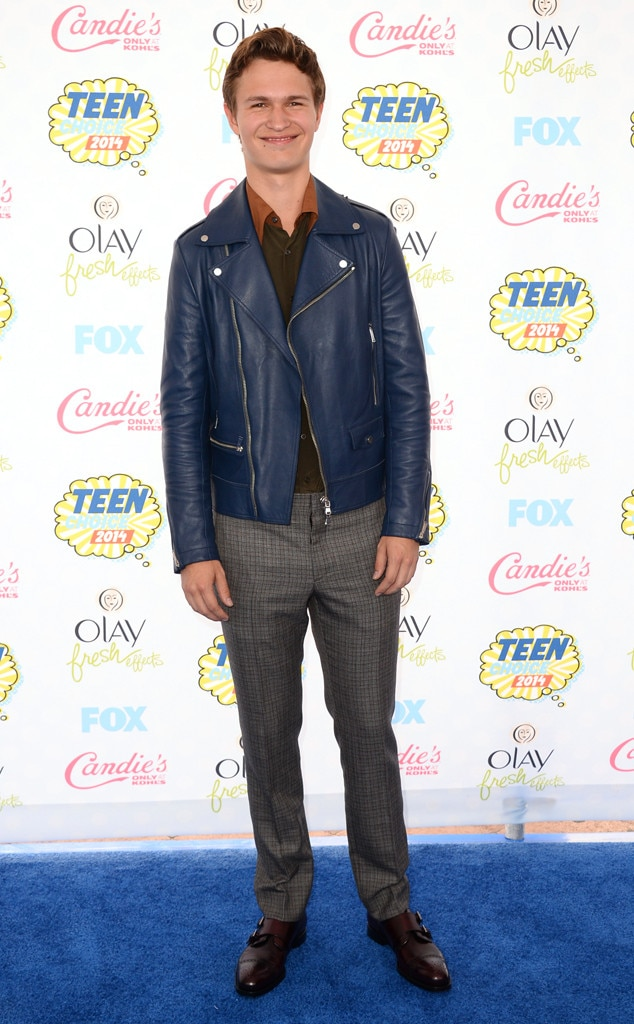 Ansel Elgort, Teen Choice Awards