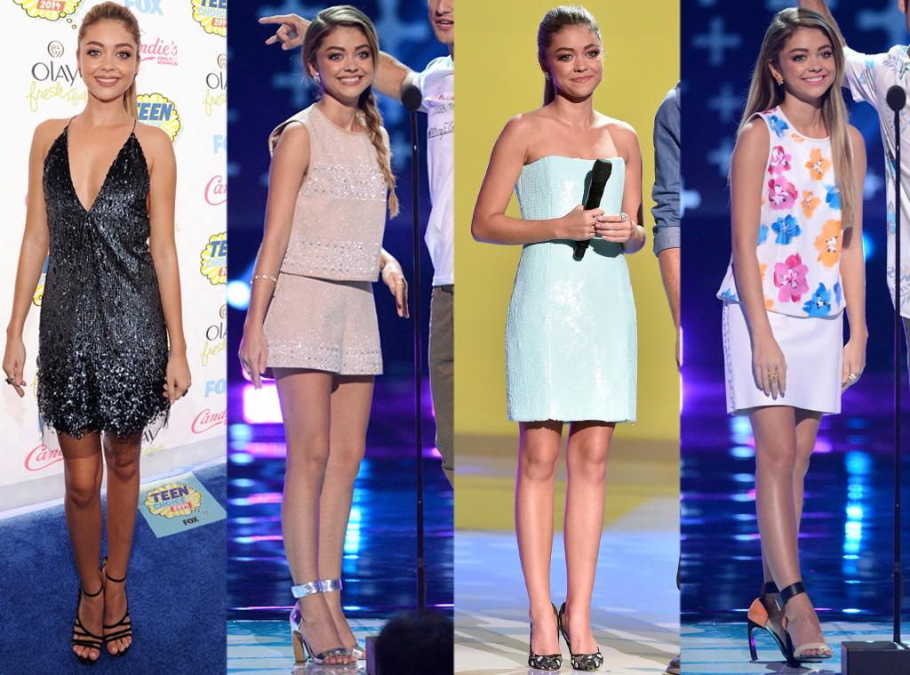 Sarah Hyland, Teen Choice Awards