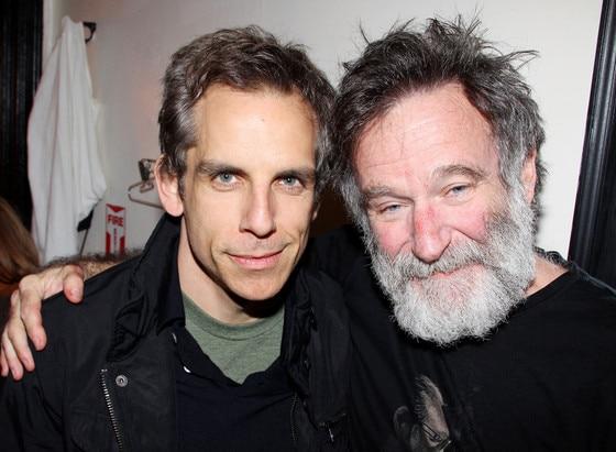 Robin Williams, Ben Stiller, Famous Friends
