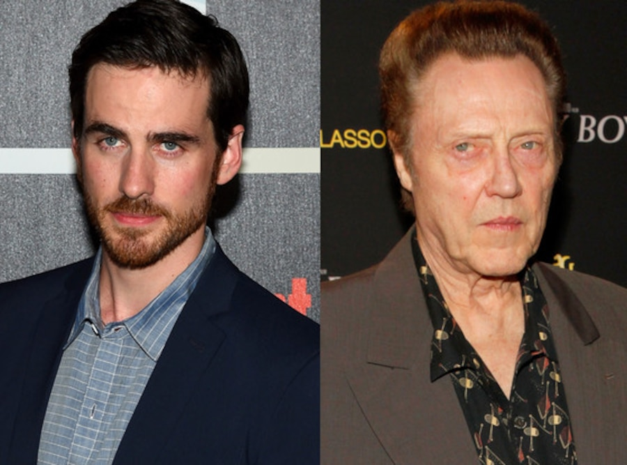Colin O'Donoghue, Christopher Walken