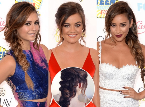 Nina Dobrev, Lucy Hale, Shay Mitchell, Teen Choice Awards