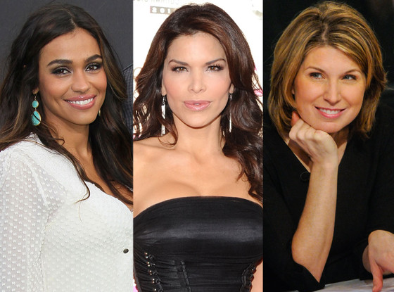 October Gonzalez, Lauren Sanchez, Nicolle Wallace
