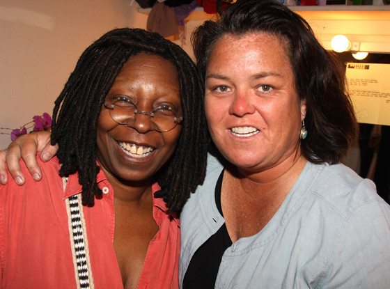Rosie O'Donnell, Whoopi Goldberg