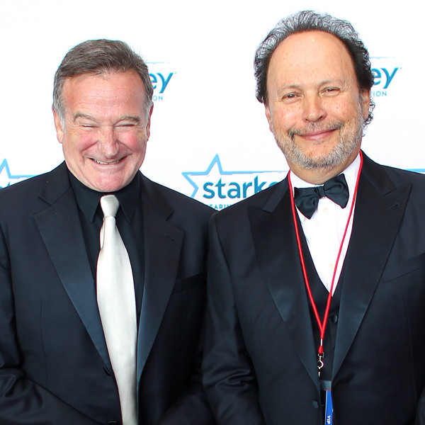Robin Williams, Billy Crystal, Famous Friends