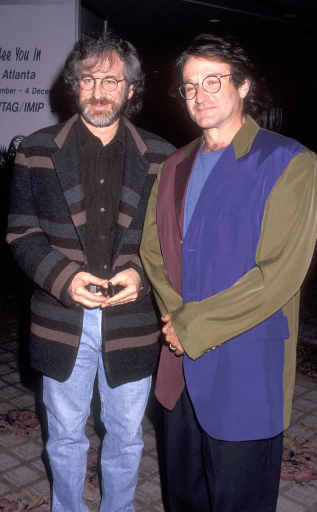 Robin Williams, Steven Spielberg, Famous Friends