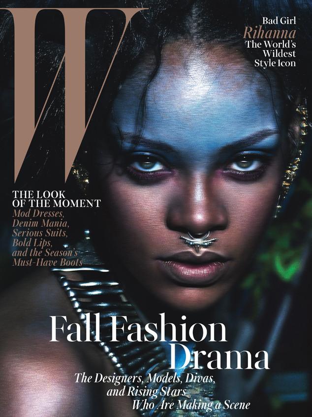 Rihanna, W Magazine