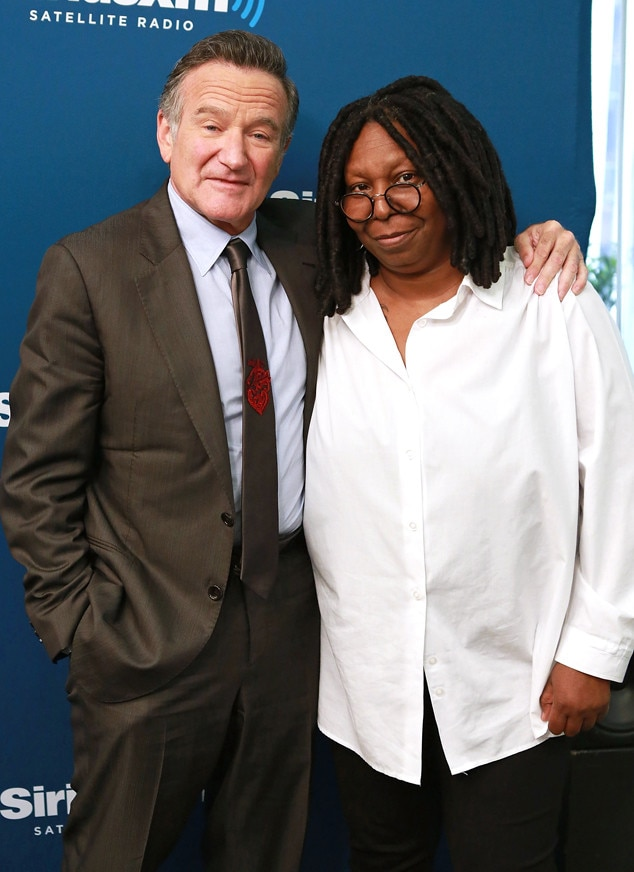 Robin Williams, Whoopi Goldberg, Famous Friends