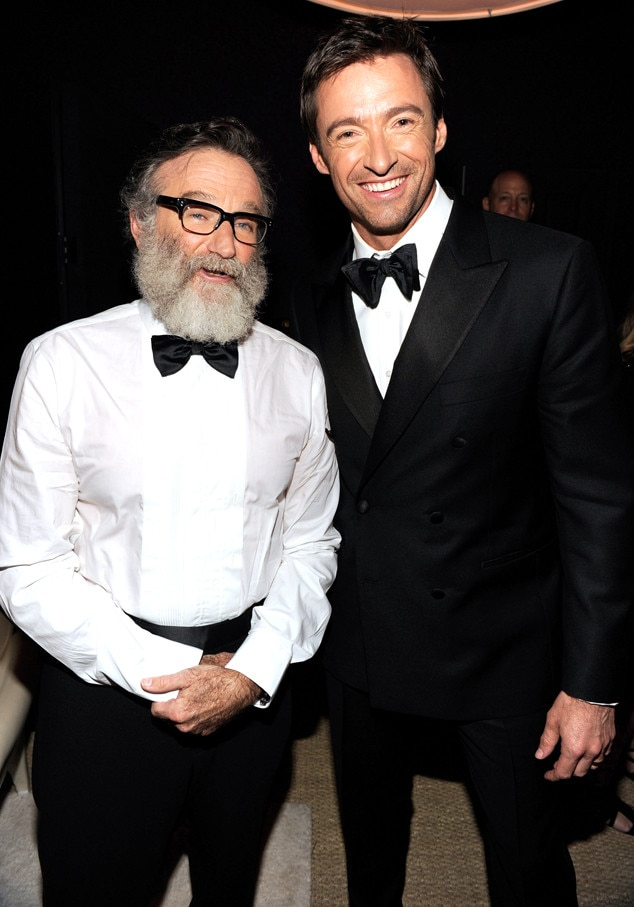 Robin Williams, Hugh Jackman, Famous Friends