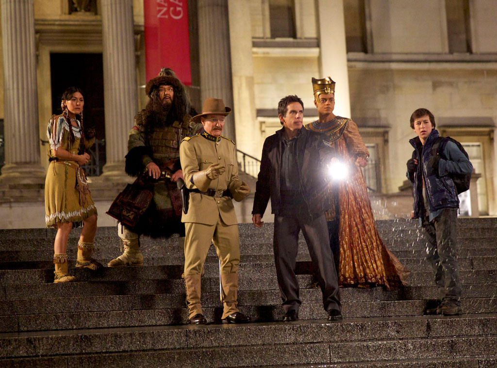 NIGHT AT THE MUSEUM, Secret Of The Tomb, Robin Williams