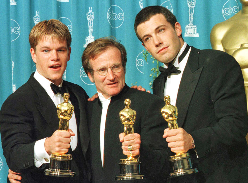Matt Damon, Ben Affleck, Robin Williams