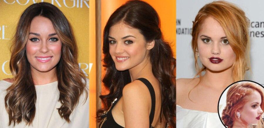 Glam Squad Kristin Ess, Lauren Conrad, Lucy Hale, Debby Ryan