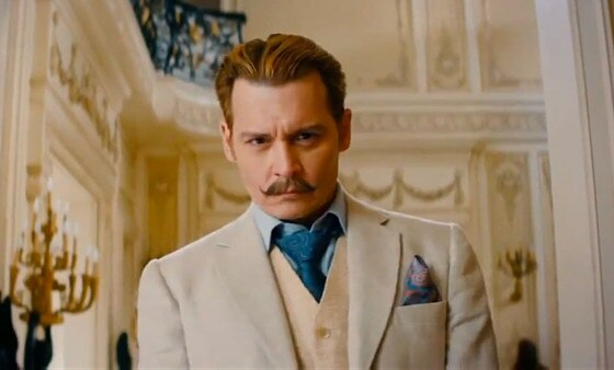 Johnny Depp, Mortdecai
