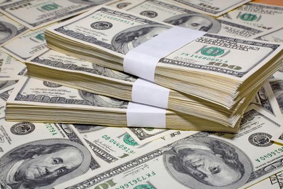 Pile of Cash, Dollar Bills