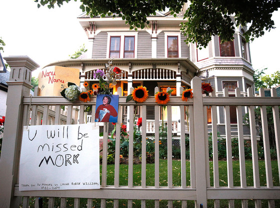 Robin Williams, Mork & Mindy House Tribute