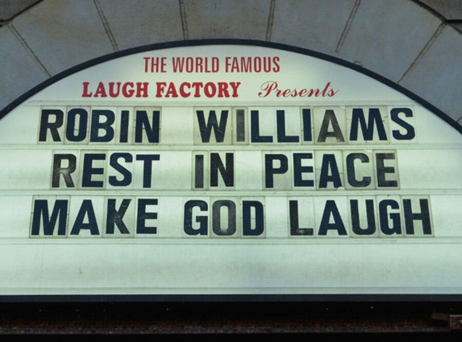 Robin Williams, Laugh Factory Tribute