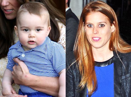 Prince George, Princess Beatrice