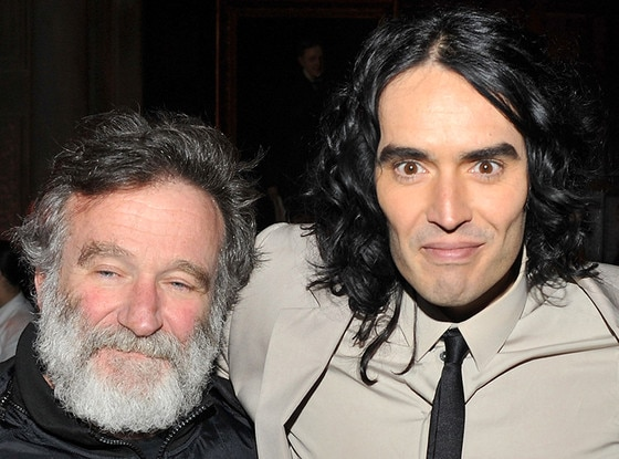 Robin Williams, Russell Brand