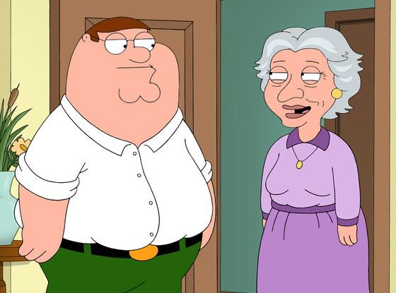 Lauren Bacall, Family Guy