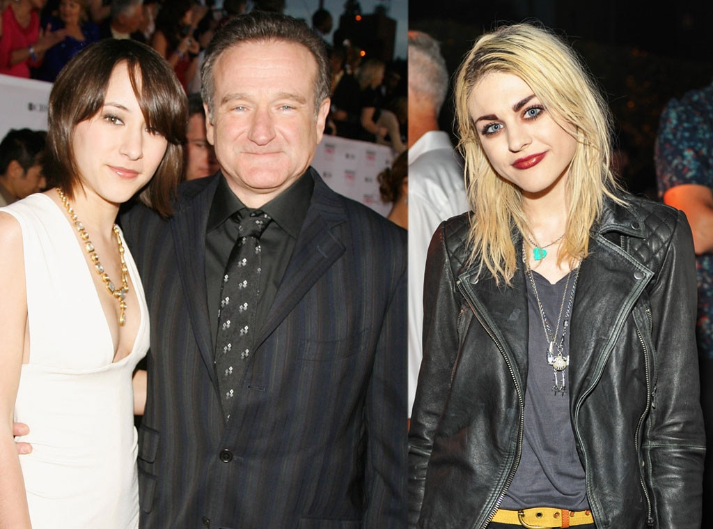 Zelda Williams, Robin Williams, Frances Bean Cobain