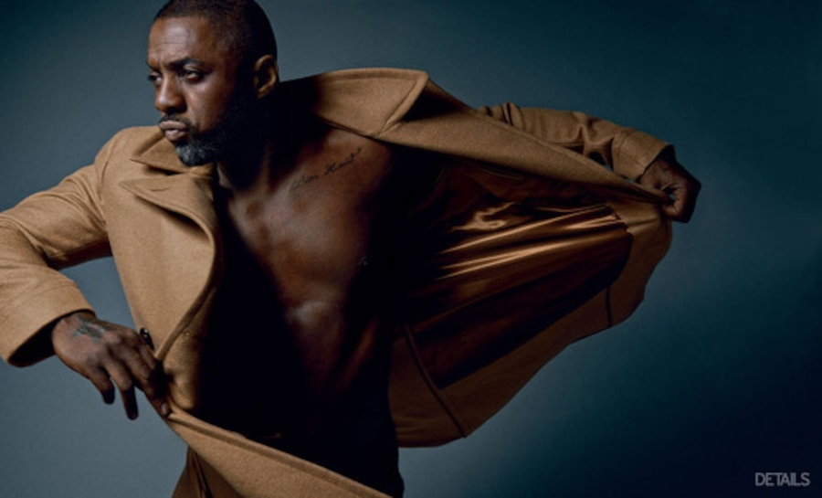 Idris Elba, Details Magazine