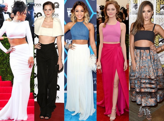Stars in Crop Tops