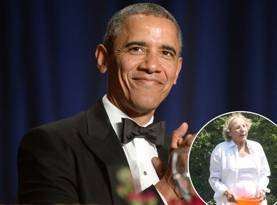Barack Obama, Ethyl Kennedy