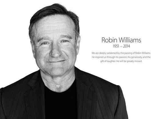 Robin Williams, Apple