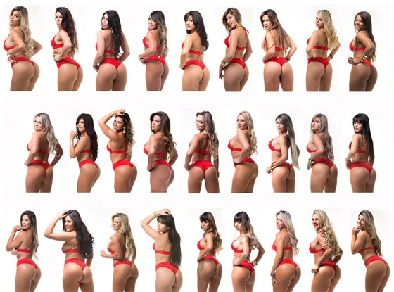Weird Beauty Pageants, Miss Bum Bum Brazil