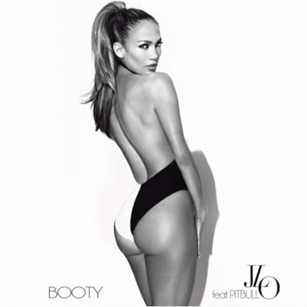 Jennifer Lopez, Butt, Twitter