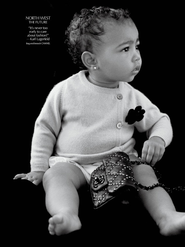 North West, CR Fashion Book