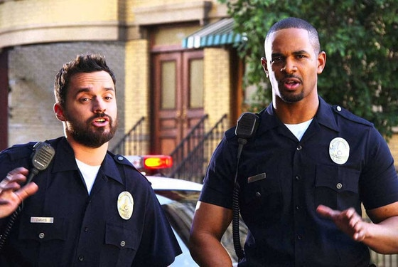 Jake Johnson, Damon Wayans Jr., Let's Be Cops