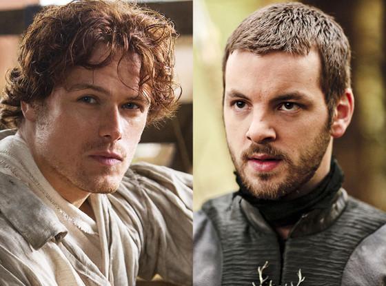Sam Heughan, Outlanders Gethin Anthony, Game of Thrones