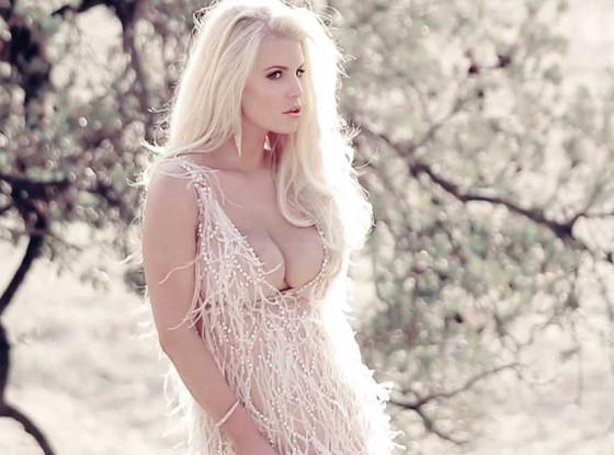 Jessica Simpson, Fragrance Ad