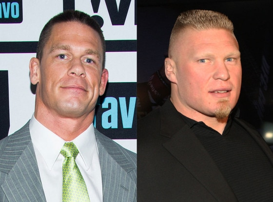 John Cena vs. Brock Lesner