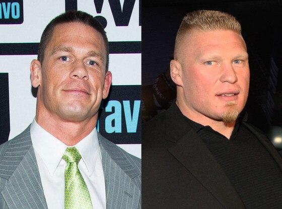 John Cena vs. Brock Lesner